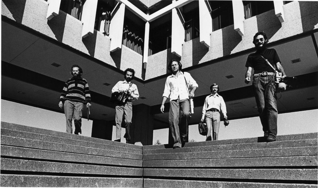 R. Murray Schafer und sein Team des World Soundscape Project (1973)